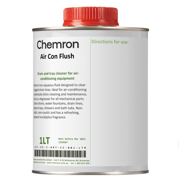 Air Con Flush   Cleaning Chemicals