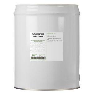 Brake cleaner metal drum