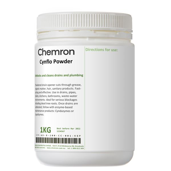 Cynflo Powder   Cleaning Chemicals