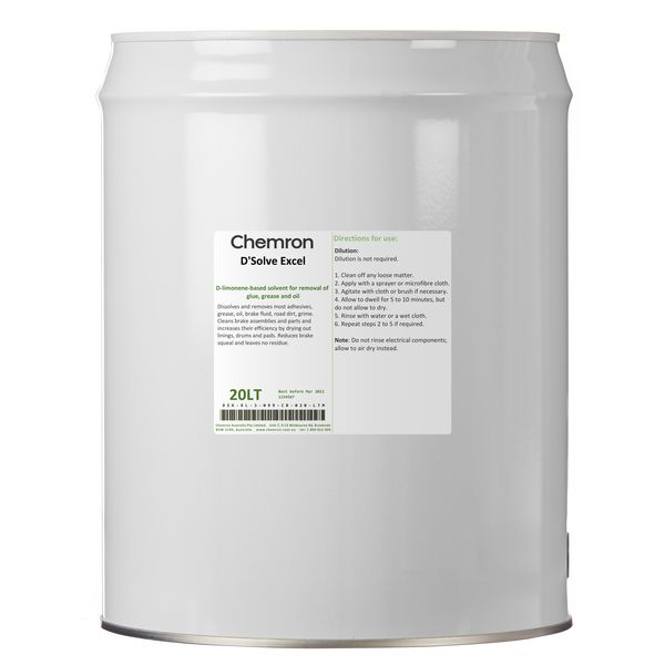 D'Solve Excel   Cleaning Chemicals