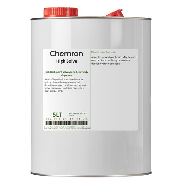 High Solve | Degreasing Chemicals