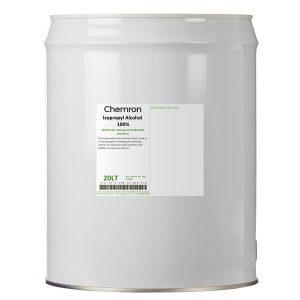 Isopropyl alcohol 100% metal drum