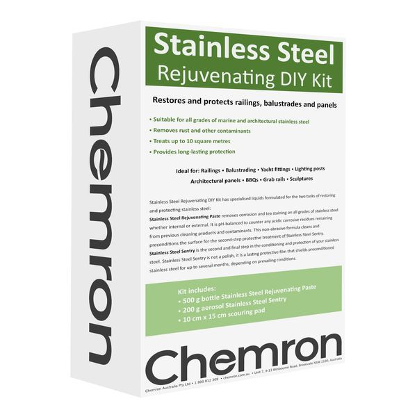 Stainless Steel Rejuvenating DIY Kit   Surface Treatment Chemicals
