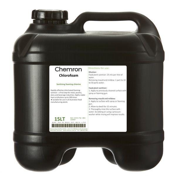 Chlorofoam | Sanitising Chemicals