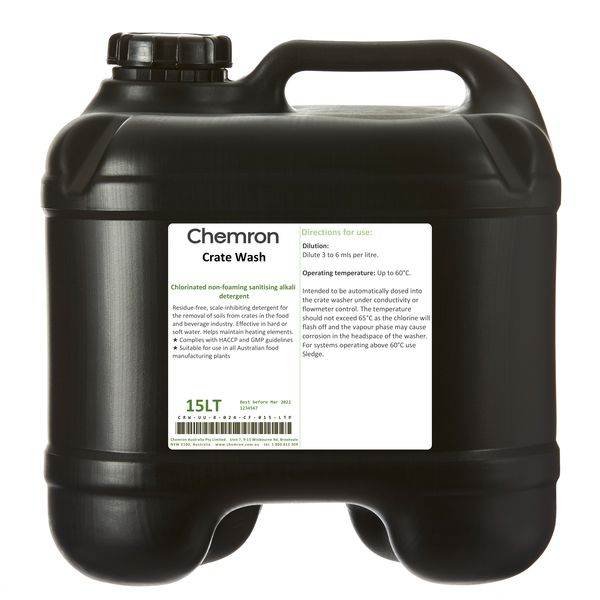 Crate Wash | Cleaning Chemicals