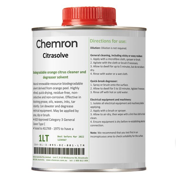 Citrasolve | Cleaning, Degreasing Chemicals