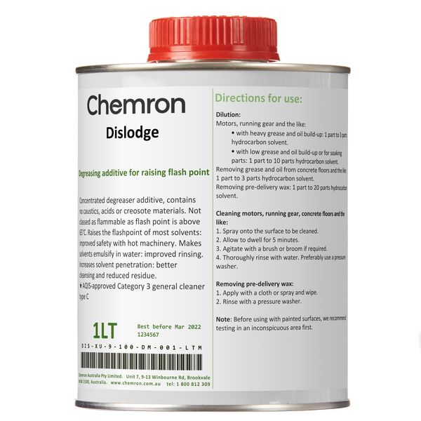 Dislodge | Degreasing Chemicals