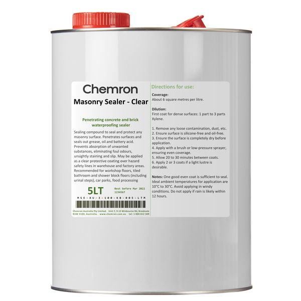 Masonry Sealer - Clear | Surface Coating Chemicals