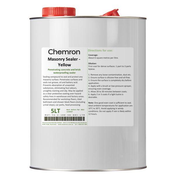 Masonry Sealer - Yellow | Surface Coating Chemicals