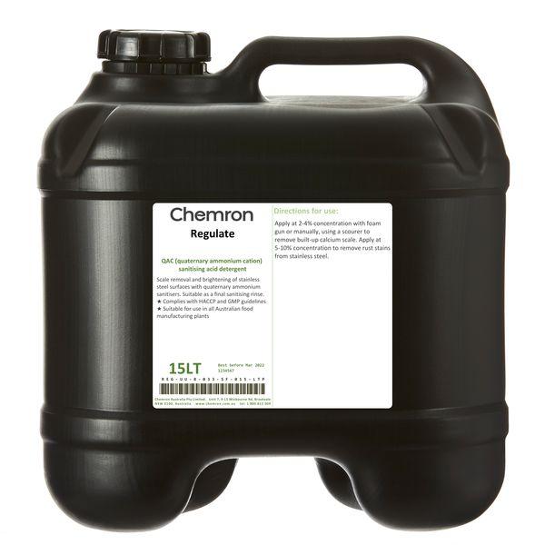 Regulate   Sanitising Chemicals