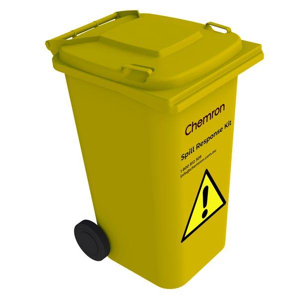 Spill response kit bin