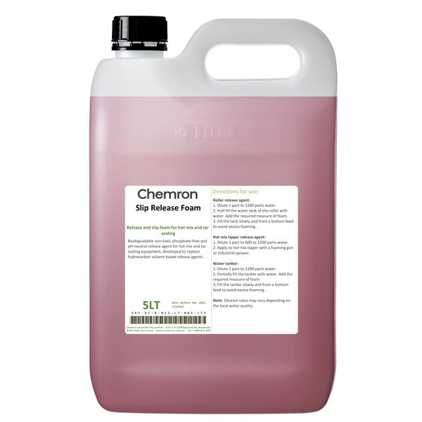 Slip Release Foam | Lubrication Chemicals