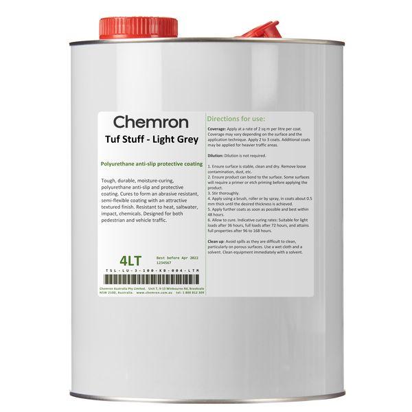 Tuf Stuff - Light Grey   Surface Coating Chemicals