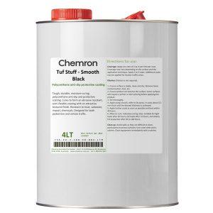 Tuf Stuff - Smooth Black   Surface Coating Chemicals