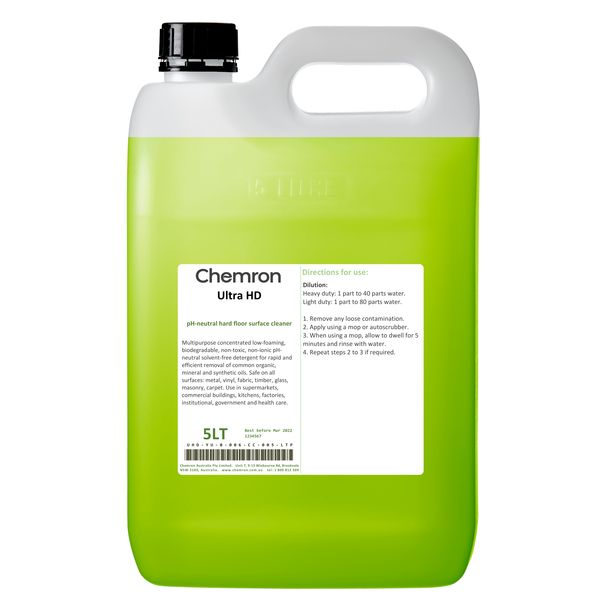 Ultra HD | Cleaning Chemicals