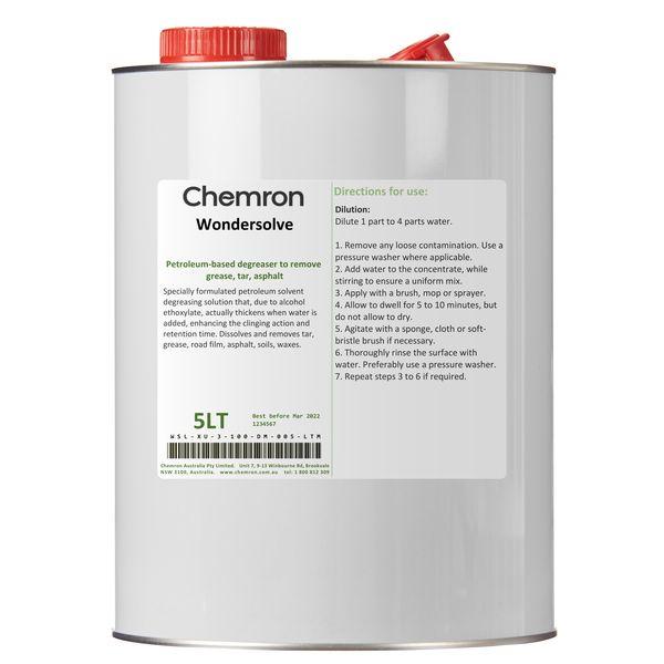 Wondersolve | Degreasing Chemicals